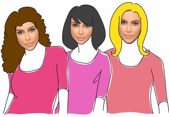 Belleza actual: Ser tú misma o ser Kim Kardashian