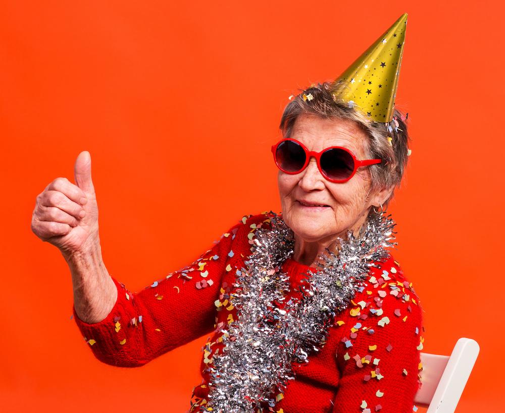 Mujer en una de las edades críticas para el envejecimiento